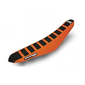 Housse de selle zebra blackbird noire/orange ktm exc/f -... - Blackbird 78101797