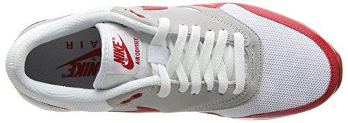 Nike Air Odyssey, Baskets Basses Homme, Weiß, M Blanc - Weiß (106 WHITE/UNVRSTY RED-NTRL GRY-SL)