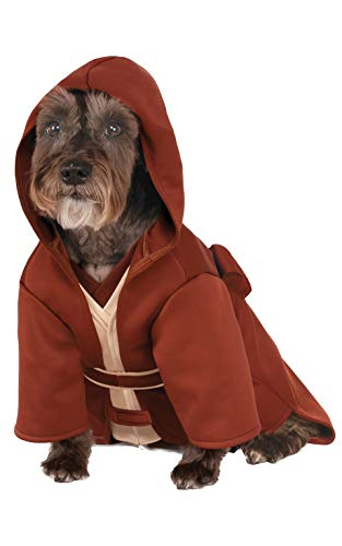Wars Star Pet Kostüm - Rubies Costume Company Star Wars Classic Jedi Robe Pet Kostüm