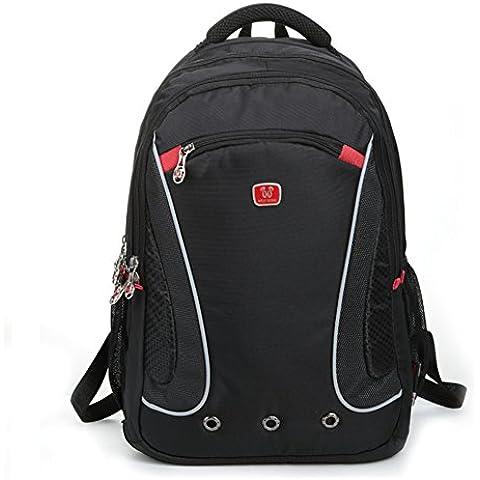 zaino business/Sacchetto di scuola/Scuola media studenti doppio portatile borsa a tracolla/Zaino da viaggio/Confezione bulk