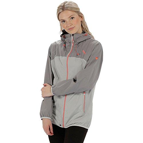 Regatta Womens/Ladies Imber II Waterproof Durable Hooded Jacket Coat - Ripstop Hooded Jacket