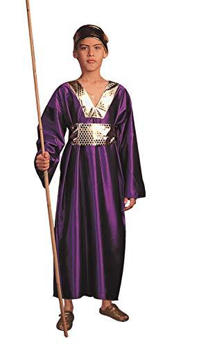 Kostüm Kind Wiseman - RG Kost-me 90181-M Wiseman Kost-m - Purple - Child Gr--e Medium 8-10