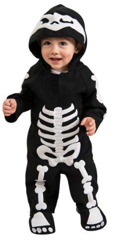 Skeleton Kostüm Boy - Rubies Kostüm Skeleton Boy Inf I (6-12 Monate) 885990-I