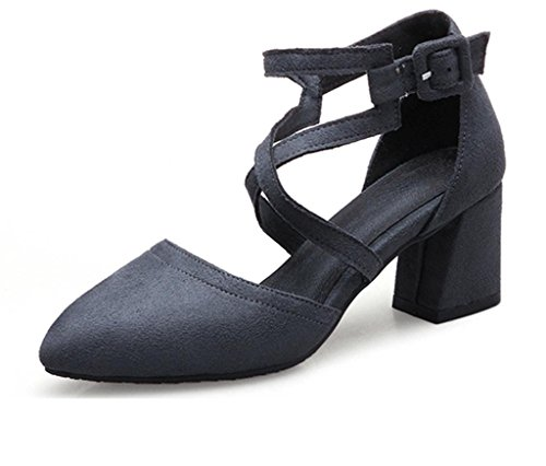MNII Chaussures à talons mi-lourds Chaussures Chelsea Low Ankle Chaussures Twin Gussets Talons hauts- Chaussures de mode