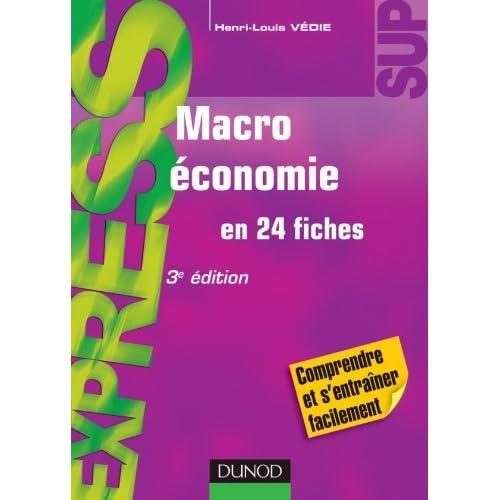 Macroéconomie by Henri-Louis Védie(2011-09-14)