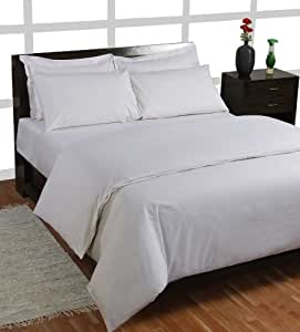 homescapes drap housse de luxe sp cial matelas epais de couleur blanc pour 1 2 personnes de. Black Bedroom Furniture Sets. Home Design Ideas
