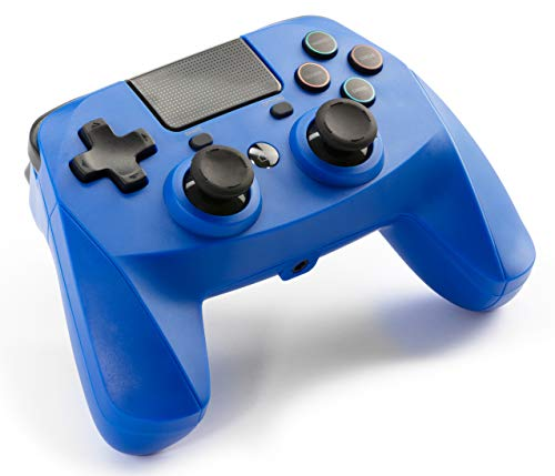 snakebyte PS4 GAME:PAD 4 S Wireless Bluetooth - Blau - kompatibel mit allen PS4