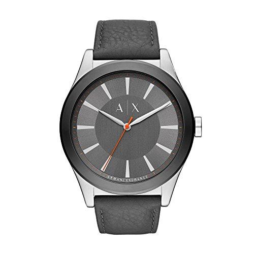 Armani Exchange Reloj Analogico para Hombre de Cuarzo con Correa en Cuero AX2335