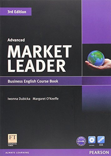Market Leader 5 Advanced Coursebook with Self-Study CD-ROM and Audio CD (3rd Edition) 3rd edition by Dubicka, Iwonna, O'Keeffe, Margaret (2011) Paperback
