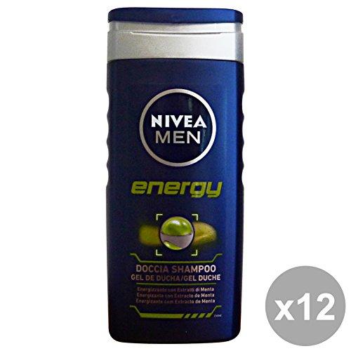 NIVEA Set 12 Douche Man Energy 250 Ml. Les Savons Et Cosmétiques