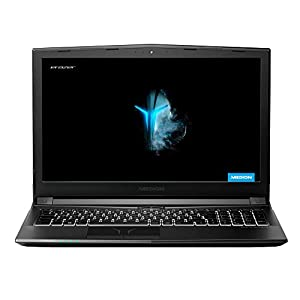 MEDION ERAZER P6605 39,6 cm (15,6 Zoll) Full HD Gaming Notebook (Intel Core I5-8300H, 16GB DDR4 RAM, 1TB HDD, 256GB SSD, NVIDIA GeForce GTX 1050, Win 10 Home)