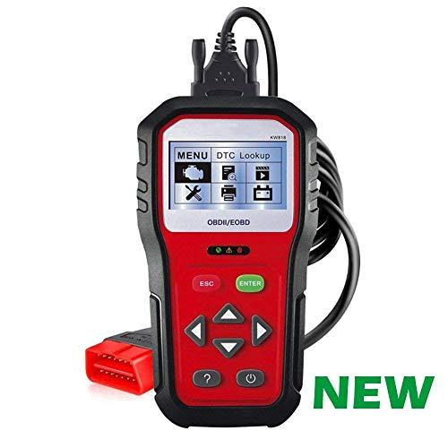Preisvergleich Produktbild OBD2 On-Board Diagnostic Scanner Tool Ist Für Alle 12V-Benzin-Modelle Engine Code Reader Leistung Ist Besser Als MS509 (Schwarz)