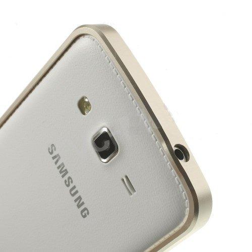 Generic Iaccessorize Metal Bumper Case Cover For Samsung Galaxy Grand 2 (Champagne Gold)