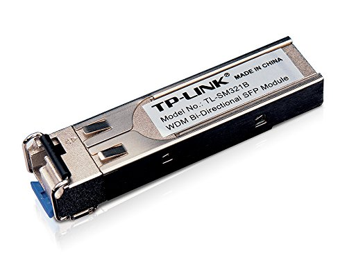 TP-Link TL-SM321B Module d'Extension SFP WDM Bidirectionnelle sur Fibre Optique 1000 Base-BX TX 1310nm / RX 1550nm Monomode jusqu'à 10 km