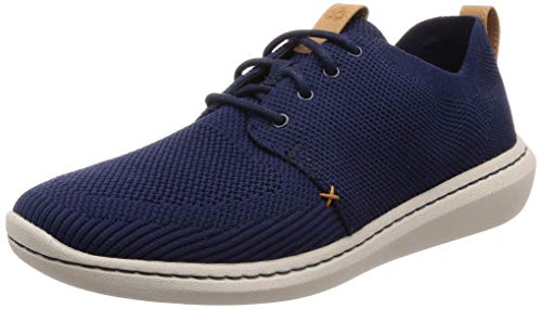 Clarks Herren Step Urban Mix Derbys, Blau (Navy), 42 EU