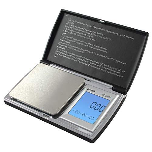 American Weigh Scale Bt2-201 Digital Gram Pocket Grain