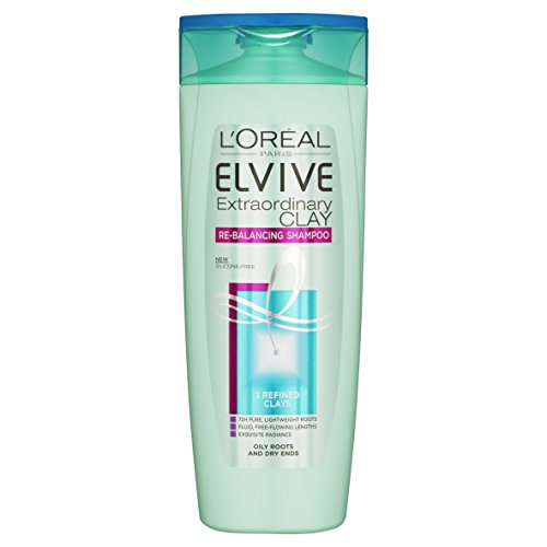 L'Oreal Elvive Clay Oily Roots Shampoo 500ml