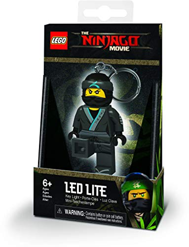 LEGO Lights IQLGL-KE108N Ninjago Movie NYA - Lámpara de Techo