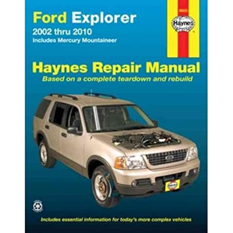[(Ford Explorer & Mercury Mountaineer Automotive Repair Manual: 02-10)] [Author: Robert Maddox] published on (November, 2012)