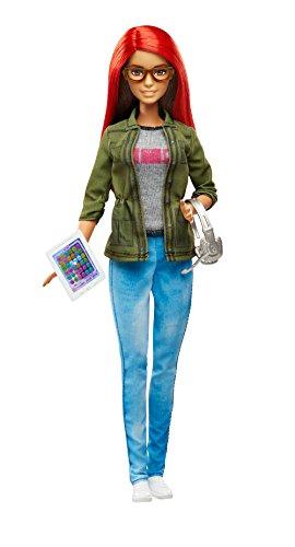 Barbie Mattel DMC33 Spieleentwicklerin (Barbie-puppe Brille)