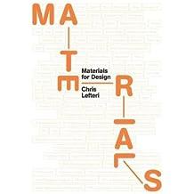 [( Materials for Design By Lefteri, Chris ( Author ) Paperback Jun - 2014)] Paperback