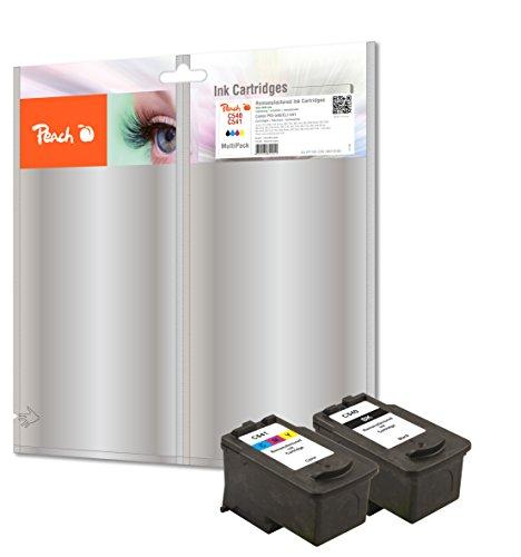 Peach Spar Pack Tintenpatronen kompatibel zu Canon PG-540, CL-541
