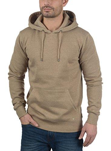 SOLID Bert Herren Kapuzenpullover Hoodie Sweatshirt aus hochwertiger Baumwollmischung Sand Melange (8409)