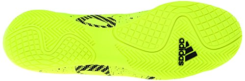 Adidas Performance X 15.4 Indoor Chaussure de football, noir / choc rose / or, 7 M Us Solar Yellow/Core Black/Solar Yellow