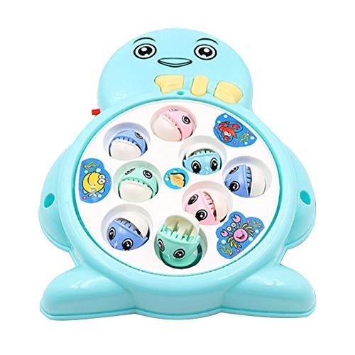 Mitlfuny Kinder Erwachsene Entwicklung Lernspielzeug Bildung Spielzeug Gute Geschenke,Kind Baby Netter Pinguin Magnetische Intelligenz Angeln Werkzeug Automatische Musik ()