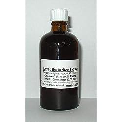 Asvet 100ml Berberitze Tinktur, Berberis vulgaris Tropfen, Konzentrat, ohne Chemie, handgemacht, 100% vegan und natürlich !