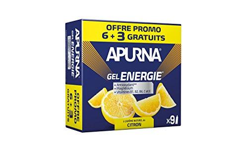 Acheter en ligne APURNA - GEL ENERGIE 'effort- CITRON Energisant Made France- Format promo +