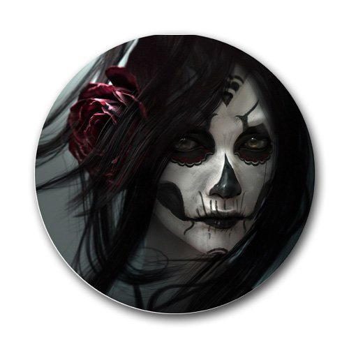 Halloween Zombie Round Mousepad Mouse Pad Great Gift Idea by MYDply (Zombie Ideen Für Halloween)