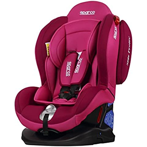 Sparco SPCF2000KPK Silla Infantil, Grupo 0+1+2, Color Rosa