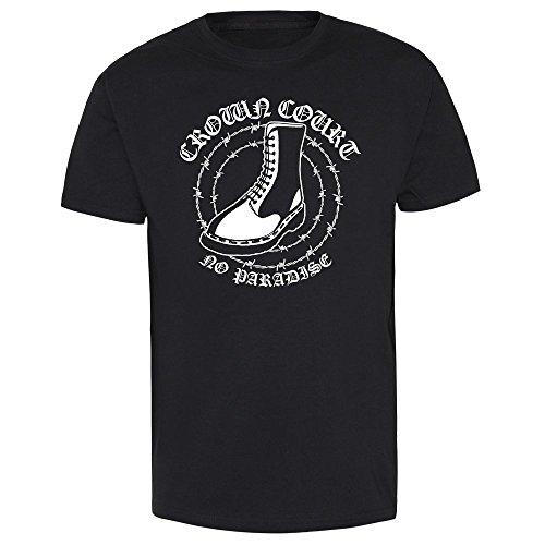 "Crown Court ""No Paradise"" T-Shirt Schwarz"