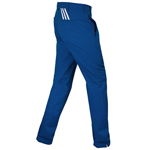 2016-adidas-puremotion-stretch-3-stripes-pants-mens-golf-flat-front-trousers-mineral-blue-36x34