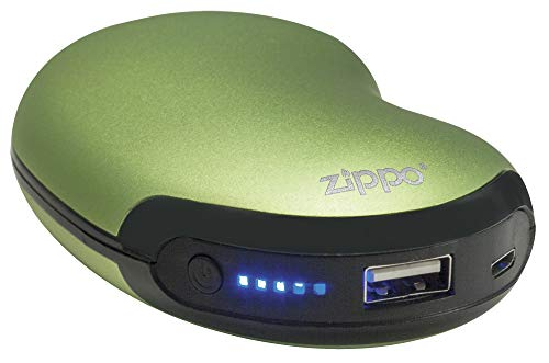 Zippo HeatBank 6 Hour Rechargeable Handwarmer Green