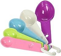Bakelicious Measuring Spoons, Multicolored