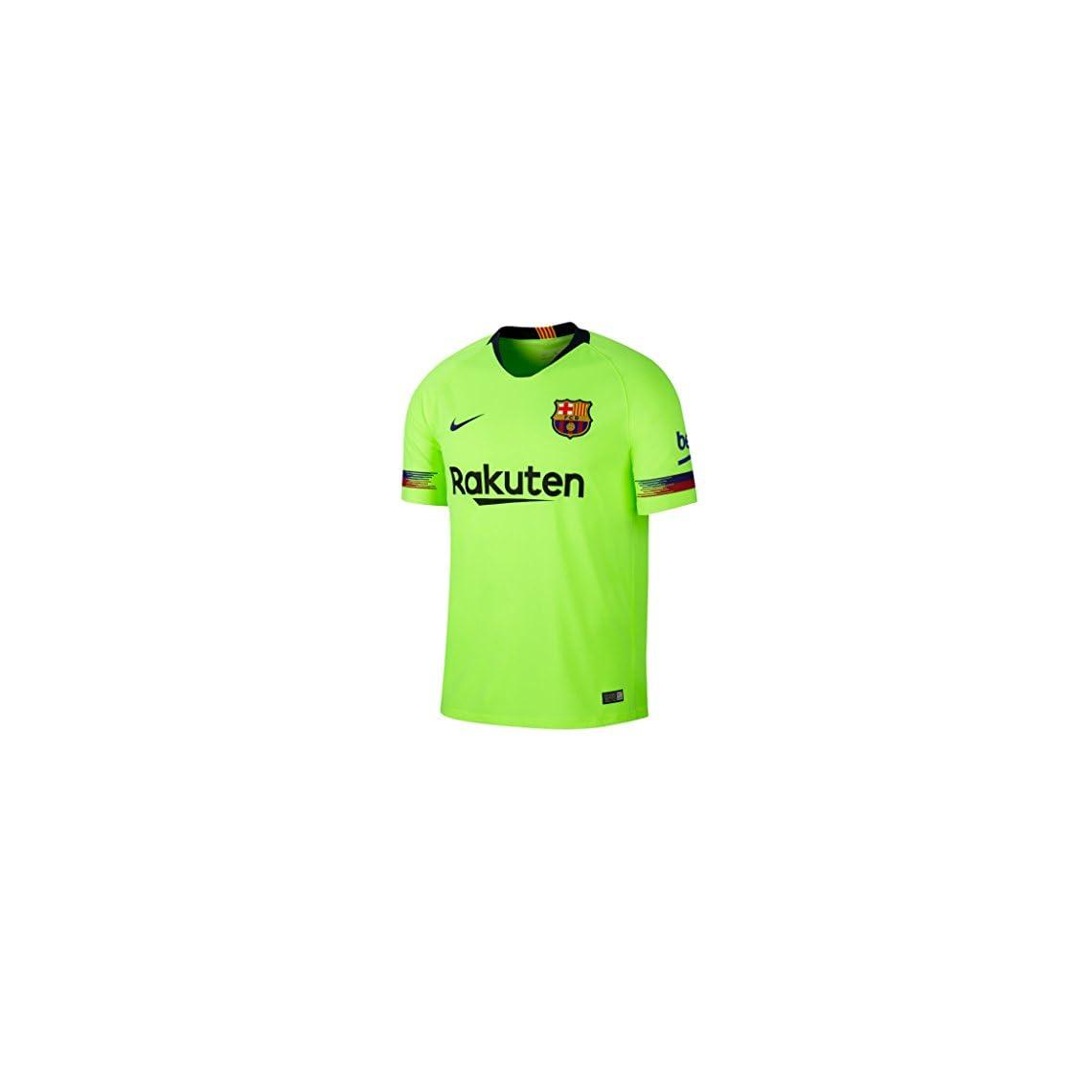 Nike 2018 19 FC Barcelona Stadium Away – Camiseta de fútbol para Hombre 90e1f286dfa