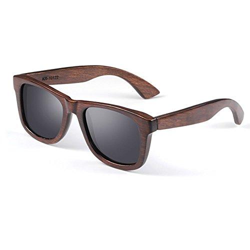 Sonnenbrille Mode-Literatur Und Kunst Ebenholz Rahmen Anti-UV Sonnenbrille