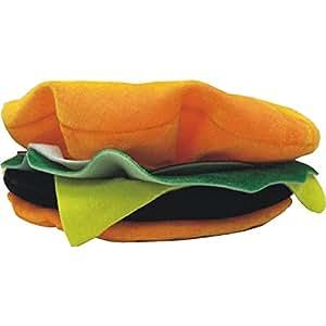 Bonnet à Steak Haché Hamburger Déguisement alimentaire vendeur Barbecue Party
