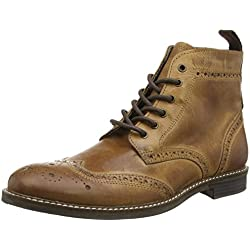 Red Tape Glaven - Botas para hombre, color marrón (brown), talla 42 EU (8 UK)
