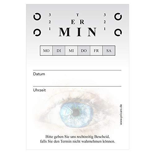 PRICARO Terminblock für Augenärzte