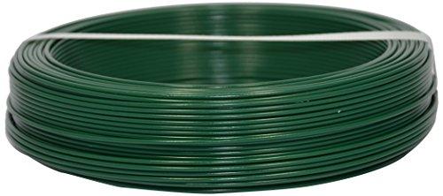 Corderie Italiane 002014065 Fil de fer plastifié, 1,6 mm - 100 m, Vert