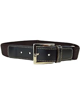 Olata Cinturón Elástico/Cuero para los Niños/Jóvenes 5-15 Años con Hebilla