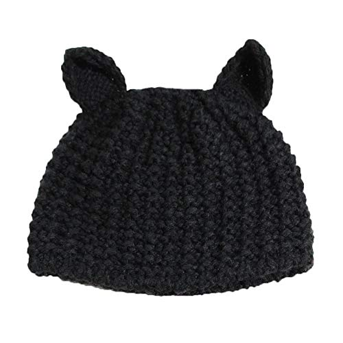 Kostüm Floppy Ohren - YBBDHD OhrmüTze Handgemachte StrickmüTze Winter Warme Outdoor-Sportarten Frauen MüTze Hut Faltbare Elastische Atmungsaktive Wolle Floppy Hat