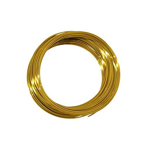 Kehuashina filamentos de seda PLA para impresoras 3D y boligrafos 1unid diámetro 30m x 1.75mm / 100g Oro