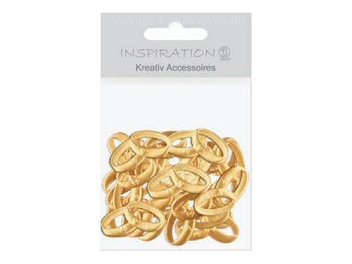 URSUS 56410013 Kreativ Accessoires Trauringe, gold
