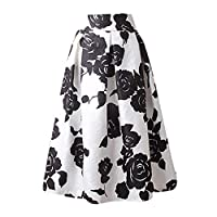 Icocol Womens Ruffle Bow Long Skirt Grey Side Zipper Tie Front Overlay Pants Medium Whiteb
