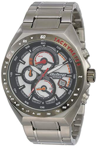 Titan 90048KM01  Chronograph Watch For Unisex