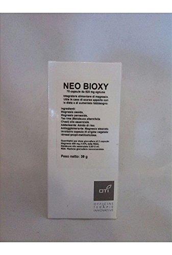 Integratore Alimentare Per Il Benessere Intestinale, Stipsi, Pancia Gonfia, Diarrea Neo Bioxy 75 Capsule